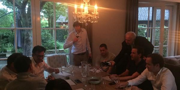 Succesvolle tafelavond bij onze tafelaar Joris Vugts