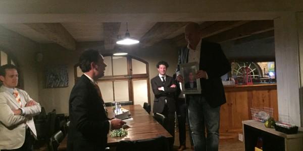 Wiro Viergever geïnstalleerd tijdens de 243e vergadering van de Ronde tafel Nuenen