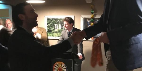 Joost Engelen geïnstalleerd als nieuw lid van de Ronde Tafel Nuenen